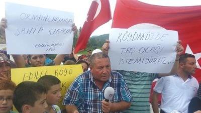 Köylülerin Taş Ocağı İsyanı!
