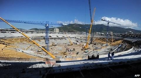 Brezilya'daki Dünya Kupası öncesi Stad Krizi