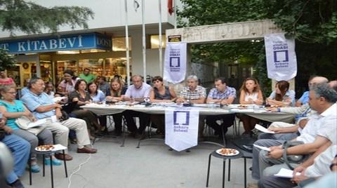 Mimarlar Yasadışı Dinlemeleri Sokakta Protesto Etti