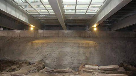 Müze Üstü AVM İnşaatına Durdurma
