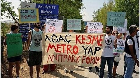 """Ankara'ya Yol Değil, Metro Gerek"""
