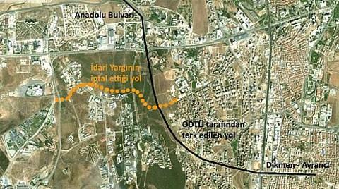 Ankara Büyükşehir Belediyesi'nin ODTÜ Planı!