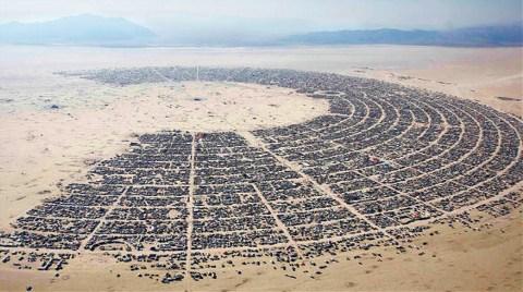 Çöle Festival için Şehir Kurdular