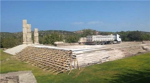 Apollon Tapınağı'nın Üstüne TIR Çıkardılar!