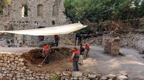 Olimpos Antik Kenti'nde Kazılar Başladı