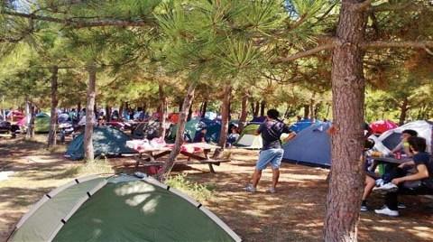 Kuzey Ormanları için Çadır Kurdular!