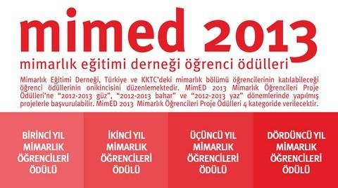 MimED2013 Mimarlık Öğrencileri Proje Ödülleri