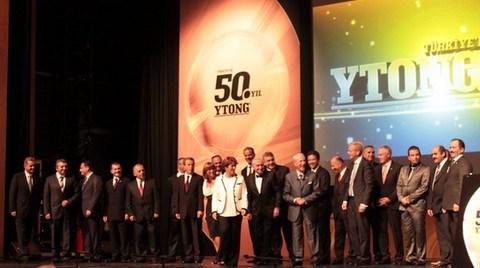 Türk Ytong'un 50. Yılı için Görkemli Kutlama