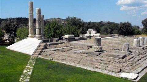 2 Bin 300 Yıllık Tapınak Restore Ediliyor