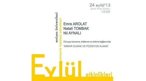 Erciyes Üniversitesi EAA'yı Ağırlıyor