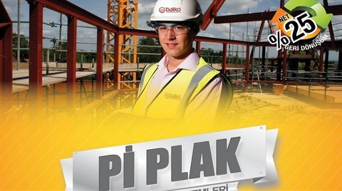 Balcıoğlu'nun Çevreci Ürünü Pi Plak Yapı Sektörüyle Buluştu