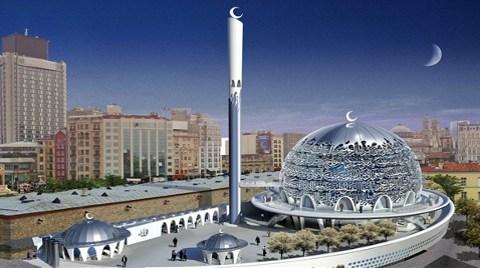 Taksim'e Cami Projesinde Yeni Değişiklikler!