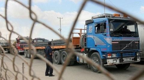6 Yıl Sonra Gazze'ye İnşaat Malzemesi Geçişine Kısmi İzin