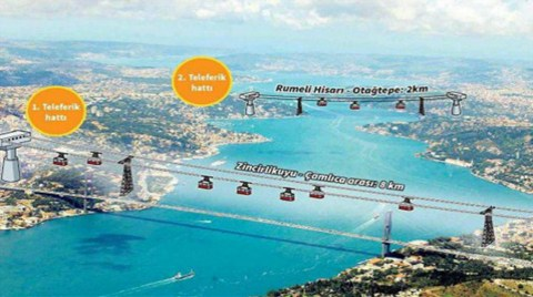 İstanbul'a İkinci Teleferik Hattı!