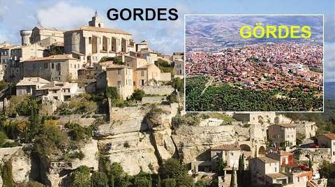 Manisa Gördes Diye Fransa Gordes'i Tanıttılar