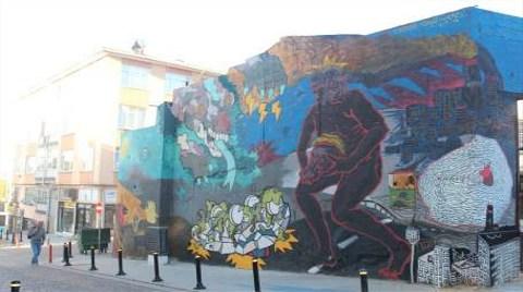 Kadıköy'de Duvarlar Sanatla Renklendi!