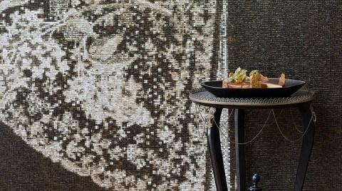 Lot'tan Mozaik Dokusunda Duvarlar