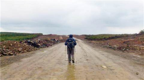 Kuzey Otoyolu'na Karşı Yürüdüler