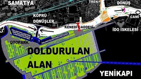 """""""Yenikapı Meydan Düzenlemesi"""" Camiye Tosladı!"""