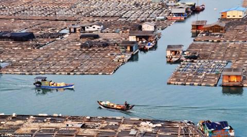 Suyun Üzerinde Yüzen Tahta Şehir!