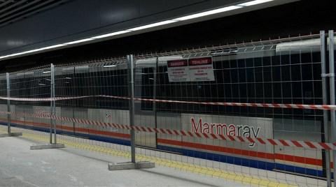 İşte Marmaray'dan İlk Kareler!