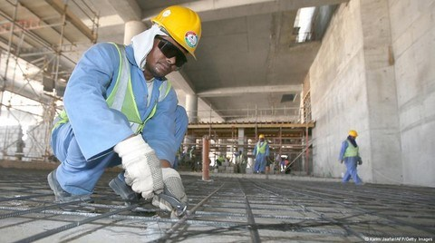 Katar'a '21'inci Yüzyıl Köleliği' Eleştirisi