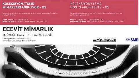 Koleksiyon/TSMD, Ecevit Mimarlık'ı Ağırlıyor