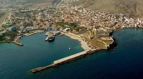 """Bozcaada'ya """"Kruvaziyer Limanı Projesi""""!"""