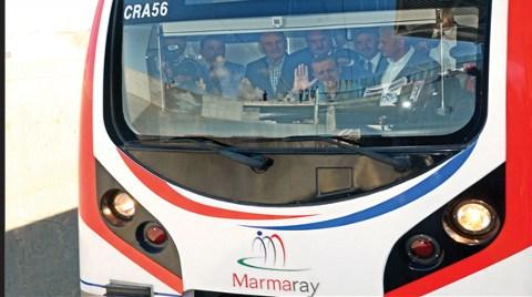 Marmaray'da İlk Arıza