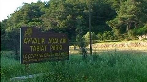 Ayvalık Tabiat Parkı için Tehlike Çanları!