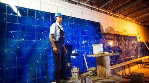 Marmaray'ın İstasyon Duvarlarına da 'İznik Çinisi'