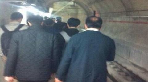 Marmaray'da Seferler Durduruldu