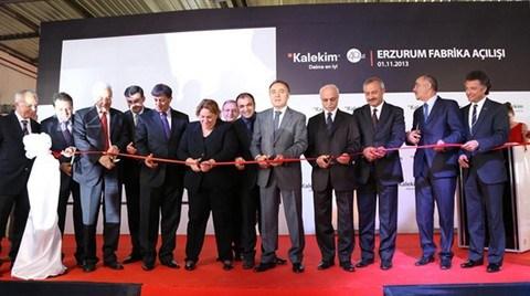 Kalekim Erzurum'da Üretime Başladı