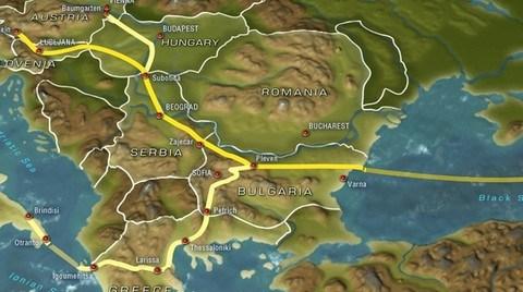 'Güney Akım Projesi'nin Sırbistan Ayağının İnşası Başlıyor