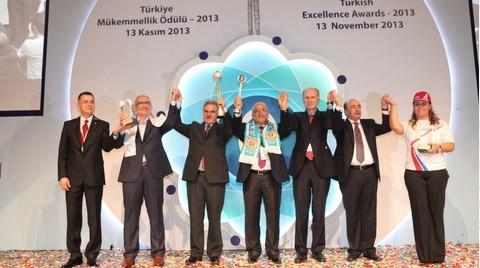Türkiye Mükemmellik Büyük Ödülü Tarsus Belediyesi'nin