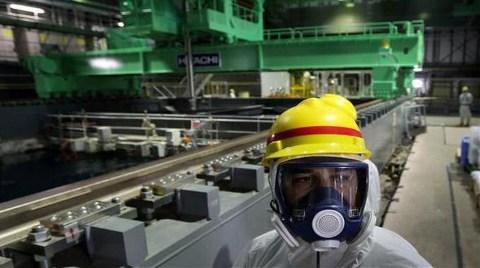 Fukuşima'da Temizlik Operasyonu