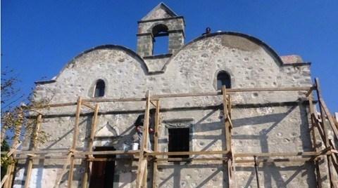 173 Yıllık Tarihi Kilisenin Restorasyonunda Sona Doğru