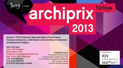 ARCHIPRIX - Türkiye 2013 Ödül Töreni