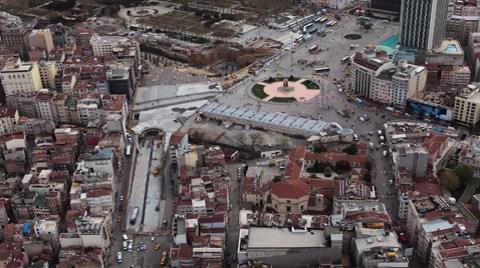 """""""Taksim Çölden de Kötü, Şu An Olmayan Bir Mekan"""""""