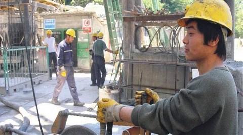 Çinli İşçi İstenmesine Tepki