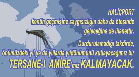 Haliç Dayanışması Tersane-i Amire'nin 559. Kuruluş Yıldönümünü Kutlamaya Çağırıyor
