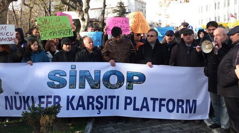 Sinop'ta Nükleer Karşıtları Platformda Buluşuyor