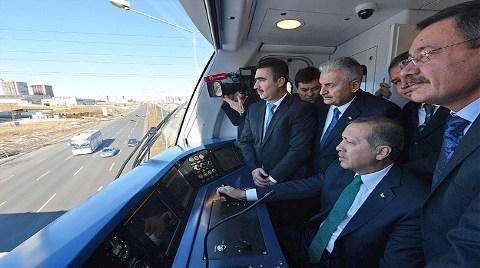 Ankara'da Metro Ağı Genişliyor