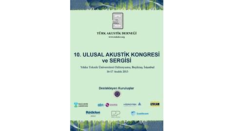 Türk Akustik Derneği 10. Ulusal Akustik Kongresi ve Sergisi