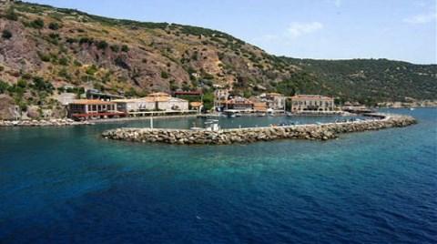 """Assos'a Liman Projesi'ne Yargı """"Dur"""" Dedi"""