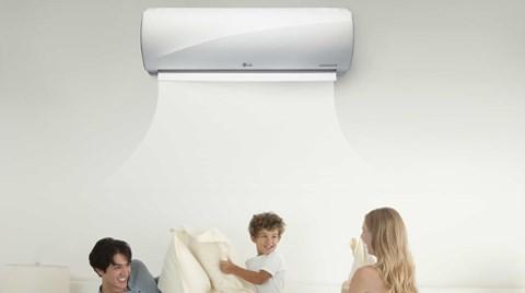 LG Inverter Klimalar Kışın da Tasarruflu Isıtıyor