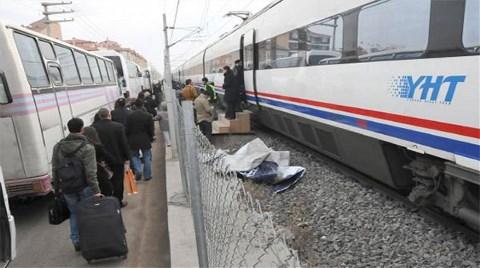 Demiryolu Çöktü, YHT'ye Otobüslerle Gittiler