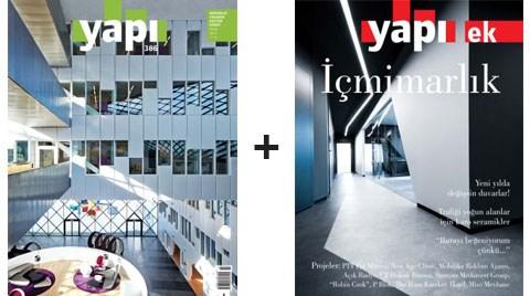 YAPI Dergisi'nden Ocak'ta 'İçmimarlık' Eki