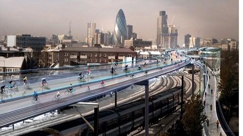 Bisikletliler için Öyle Bir Yol Tasarlandı ki...