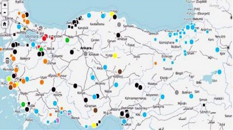 """Türkiye'nin """"Çevre Direnişi"""" Haritalandı"""
